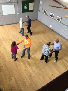 Lisburn Outlook ballroom dancing class - Sept 2016
